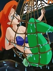 Ariel captured and raped by evil sailors. They...